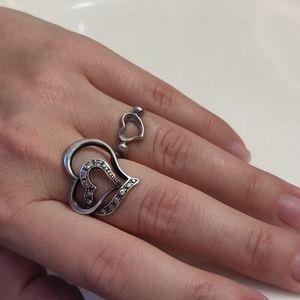 Tiffany & Co Open Heart Ring